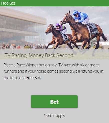 Betway Horse Betting Refund Promotion as Free Bet Detials