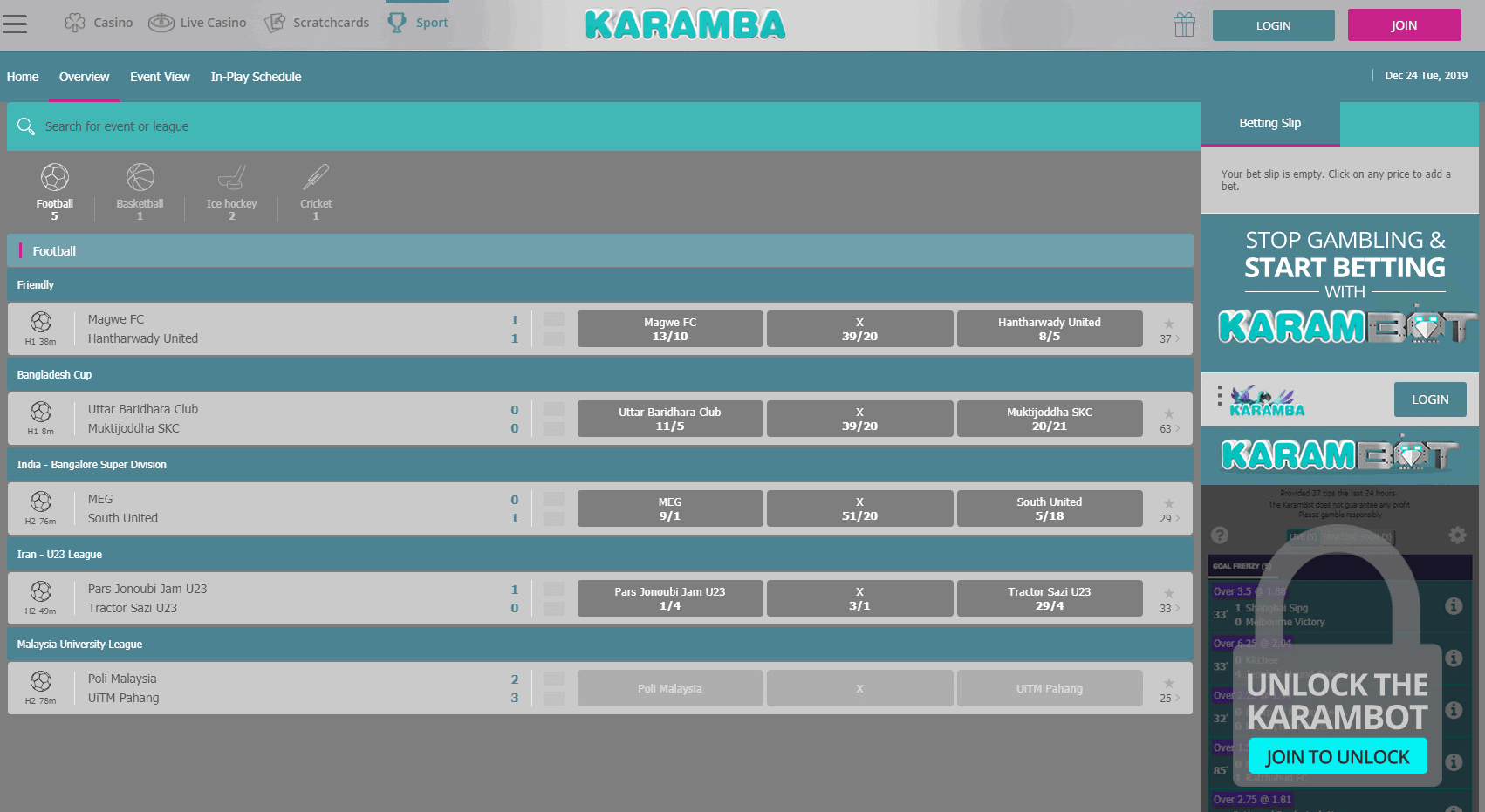 Karamba screenshot 2