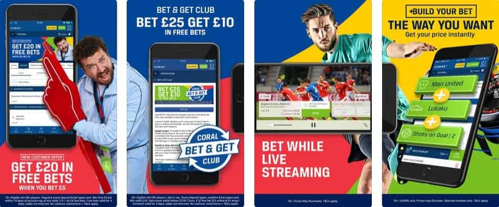 Coral Sports App Images from iTUNES