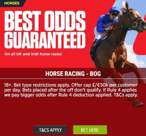 Ladbrokes Sports Best Odds Guaranteed for Horse Racing
