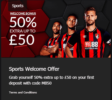Mansion Bet Welcome Offer