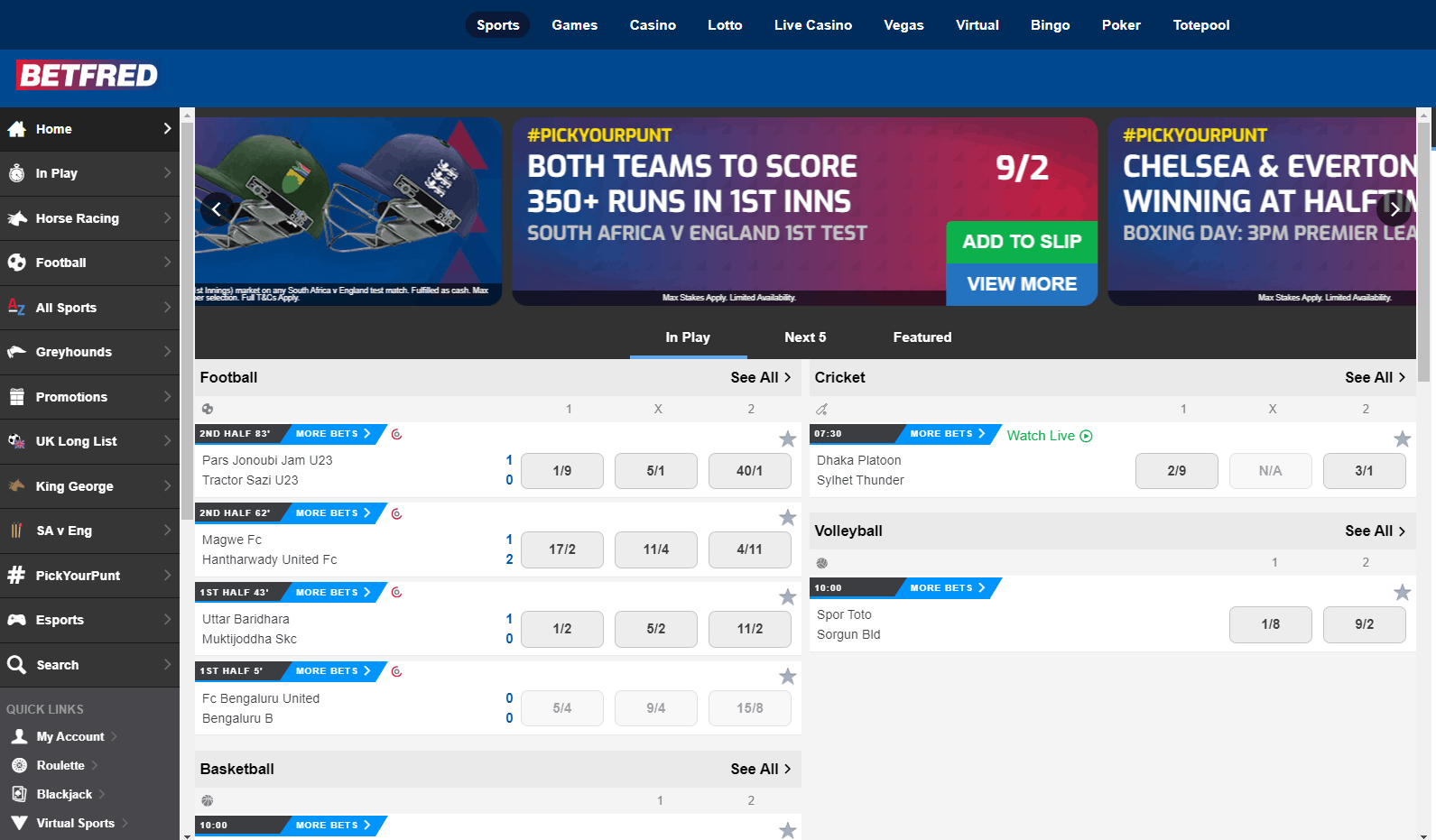 Football betting rules betfred sports betting lines nhl teams