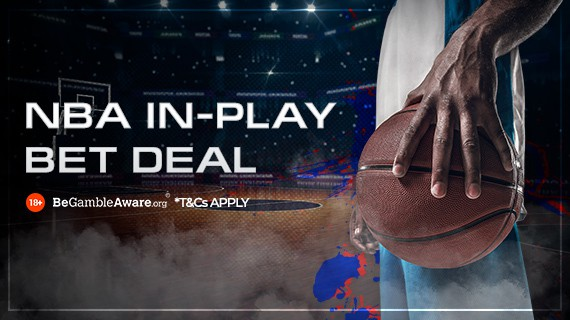 22bet sports Sports Betting NBA in-play deal promo