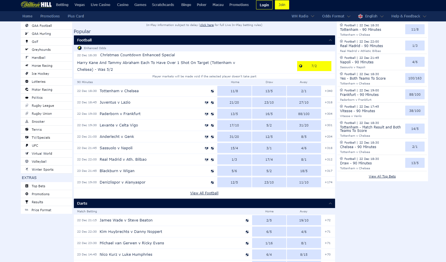 William Hill screenshot 3