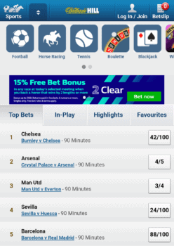 William Hill Sports Betting Review - a Juggernaut That Doesn