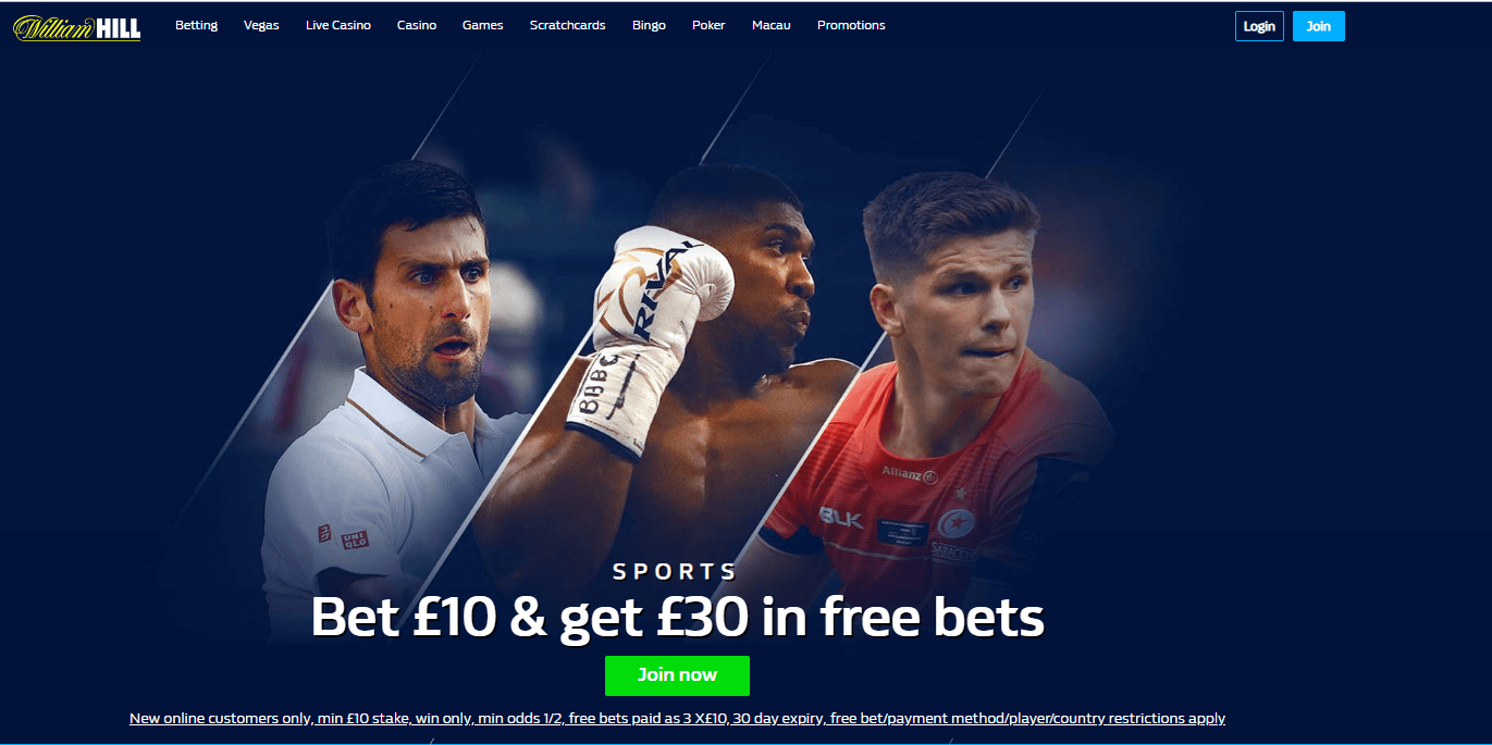 William Hill Betting Rules