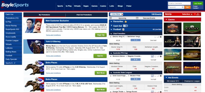 boylesports football betting rules in blackjack