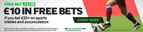 888sport Free Bet Club