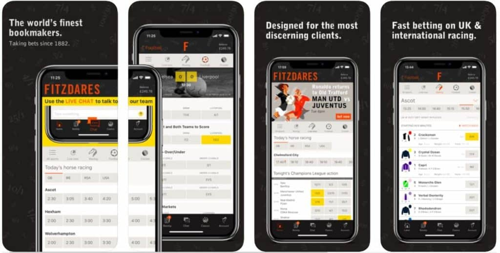 Fitzdares Mobile Betting App