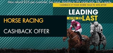 Grosvenor Horse Racing Cashback Offer