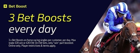 William Hill Bet Boost - horse racing