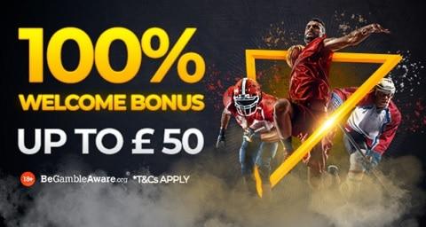 22bet 100% Welcome Bonus