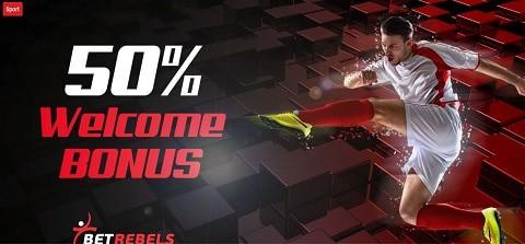 BetRebels Welcome Bonus