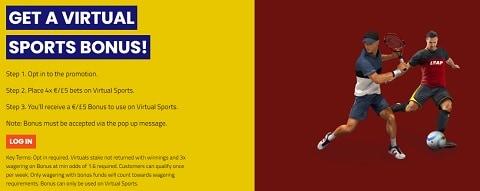SportNation Get a £5 Victuals Bonus Every Week