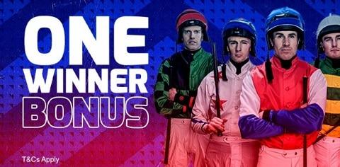 Betfred Horse Racing & Greyhounds - One Winner Bonuses