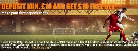 InfernoBet Deposit Min. £10 And Get £10 Free Bet