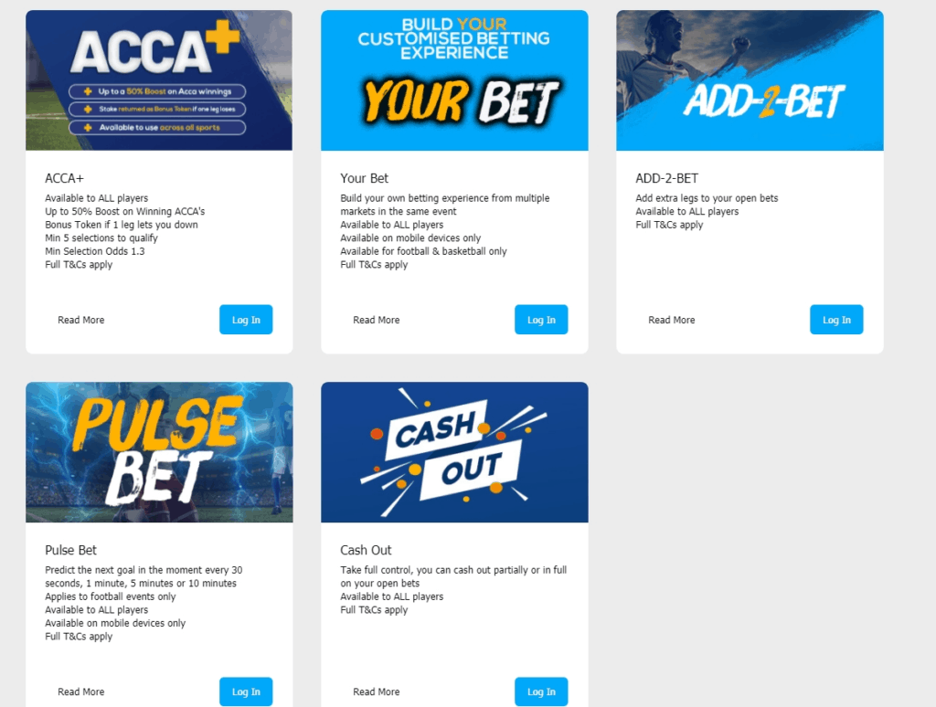 Sportpesa offers