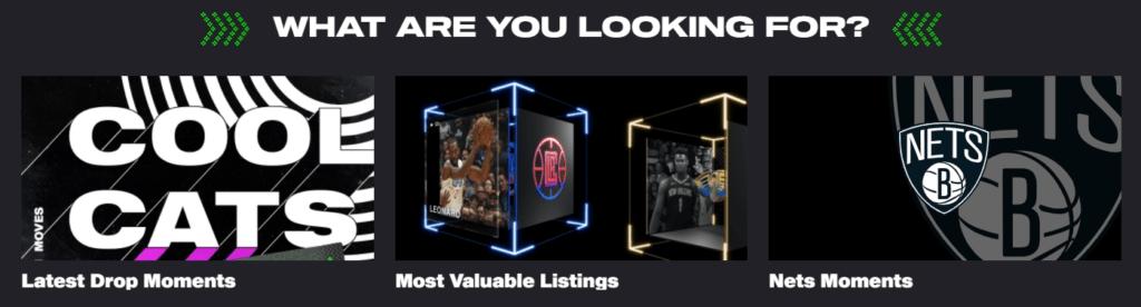 NBA Top Shot packs