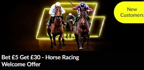 PariMatch Horse Racing Welcome Offer – Bet £5 Get £30