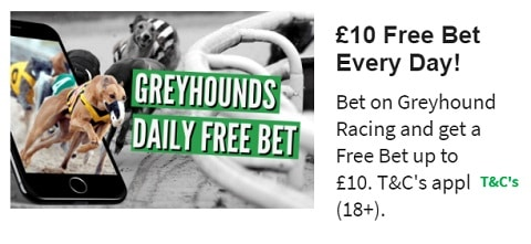QuinnBet Greyounds Daily Free Bet
