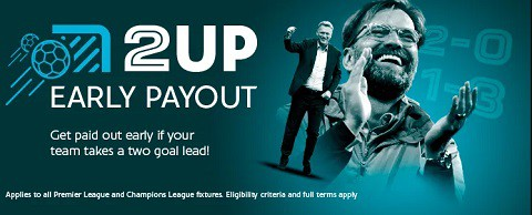 Sporting Index 2Up Early Payout