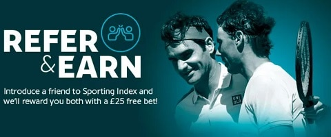 Sporting Index Refer & Earn